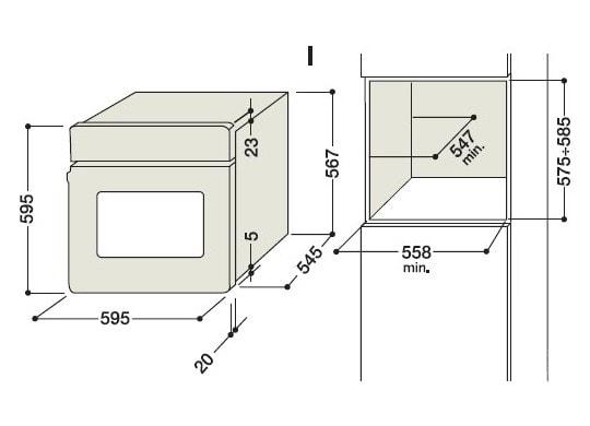 Встраиваемый духовой шкаф Hotpoint-Ariston FK 939 J X/HA.